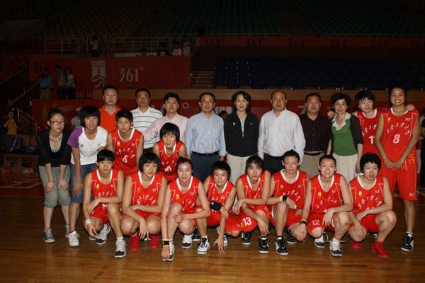 西安工大女篮获得第五届361 中国大学生女子篮球超级联赛季军 -西安图片