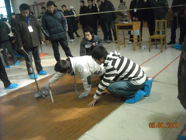 西安工大代表队参加第二届全国大学生工程训练综合